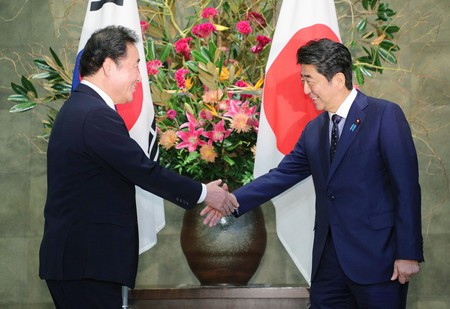 安倍首相 李洛淵 募集工 日韓基本条約 日韓請求権協定