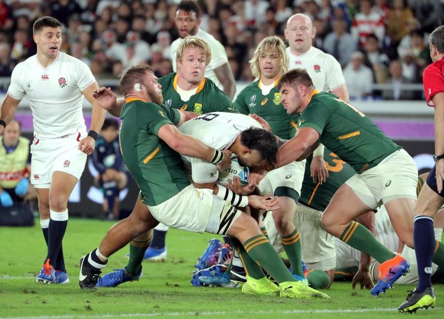 ラグビー W杯 南アフリカ イングランド
