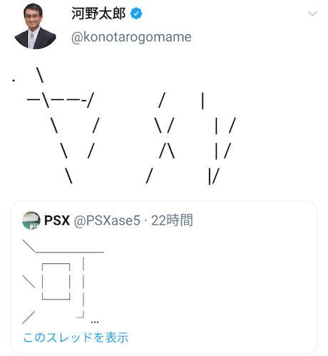 河野太郎 ツイッター