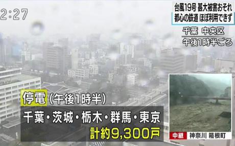 東京・江戸川区、荒川流域で氾濫危険水位に到達する見込み、浸水のおそれのある21万4000世帯、43万2000人に避難勧告 … 江戸川区は区内の小学校と中学校65校を避難所として開設、速やかな避難を