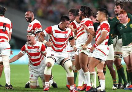 ラグビーW杯準々決勝、日本は南アフリカに3-26で敗退、トライを取れず力負けしベスト4入りはならず