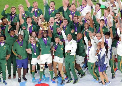 ラグビーW杯、世界ランク3位の南アフリカが1位のイングランドを12-32で破り、3大会ぶり3度目の優勝 … 1次リーグでニュージーランドに黒星、2位通過で大会を制した初のチームに