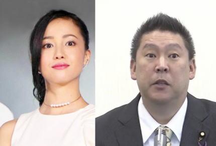 N国・立花孝志党首(52)、奈良・桜井市長選の街頭演説を都内で実施、麻薬取締法違反で逮捕された女優の沢尻エリカ容疑者に「選挙出馬をオファーします」と明言