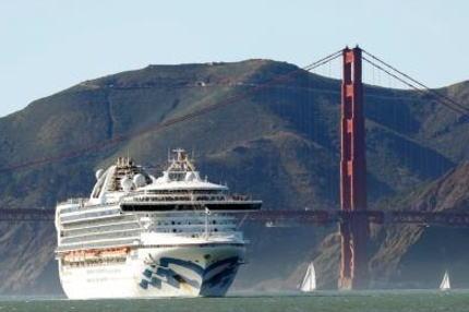 米カリフォルニア沖に停泊中のクルーズ船で新型コロナ集団感染の疑い→ 日本のクルーズ船対処が再評価され、問い合わせが殺到