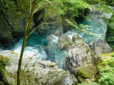 三ツ滝【巌立峡】