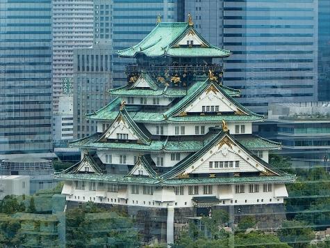 大阪城【大阪歴史博物館より】