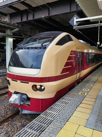 JR東日本 E653系 快速 成田山初詣常磐号【水戸駅】