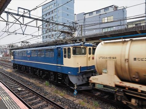 JR貨物 電気機関車 EF65 2097【成田駅】