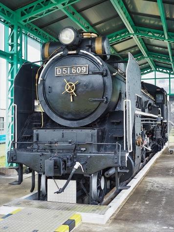 蒸気機関車 D51 609【栗山公園】