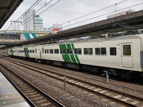JR東日本 185系 電車 快速「早春成田初詣号」