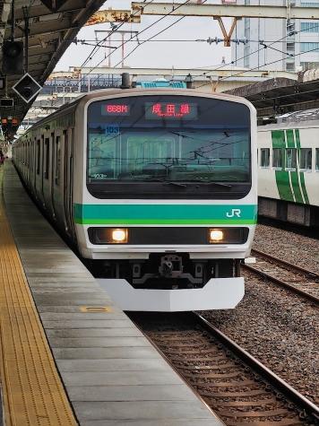 JR 成田線 E231系 電車【我孫子駅】