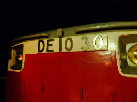 DE10 30 ディーゼル機関車【フローティングパビリオン羊蹄丸】