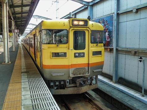 JR四国 113系 電車 第3編成【児島駅】