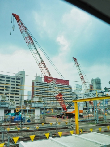 JR 品川駅~高輪ゲートウェイ駅【工事中】