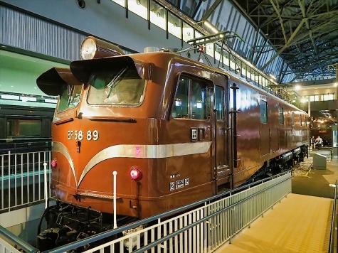 直流電気機関車 EF58 89【鉄道博物館】
