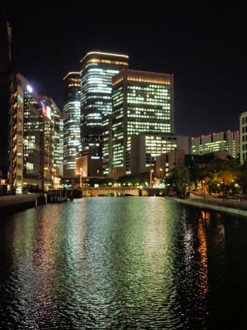 土佐堀川(淀屋橋方向)