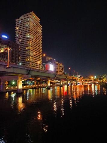 鉾流橋(ほこながしばし)からの夜景