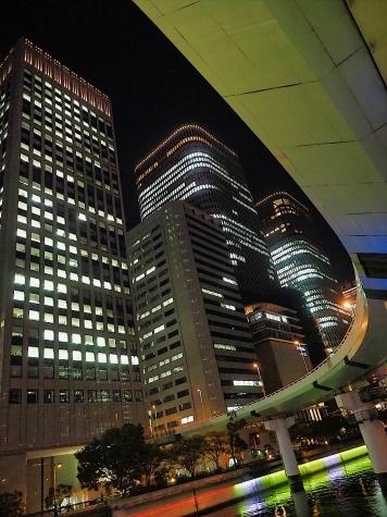 阪神高速 中之島JCT&中之島フェスティバルタワー