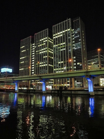 阪神高速 中之島JCT