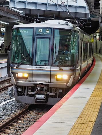 JR西日本 223系 電車【新大阪駅】