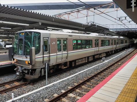 JR西日本 223系2000番台 電車【新大阪駅】