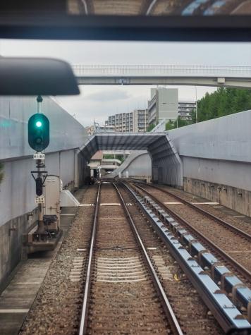 桃山台駅【北大阪急行電鉄 南北線の車窓から】