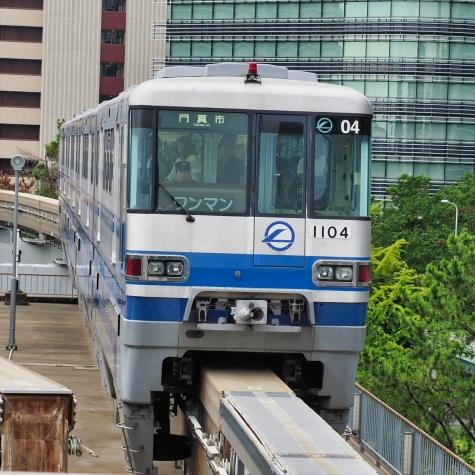 大阪モノレール 1000系 電車【千里中央駅】