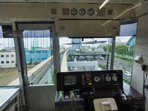 千里中央駅【大阪モノレールの車窓から】