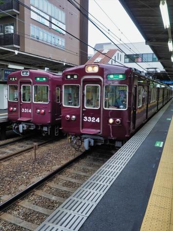 阪急電鉄 3300系 電車【南茨木駅】
