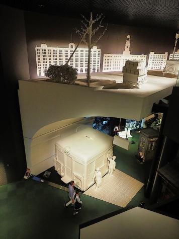 御堂筋と地下鉄【大阪歴史博物館】