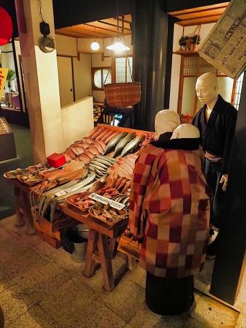 公設市場【大阪歴史博物館】