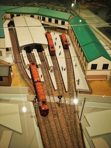 大正時代の阪神電鉄梅田駅(模型)【大阪歴史博物館】