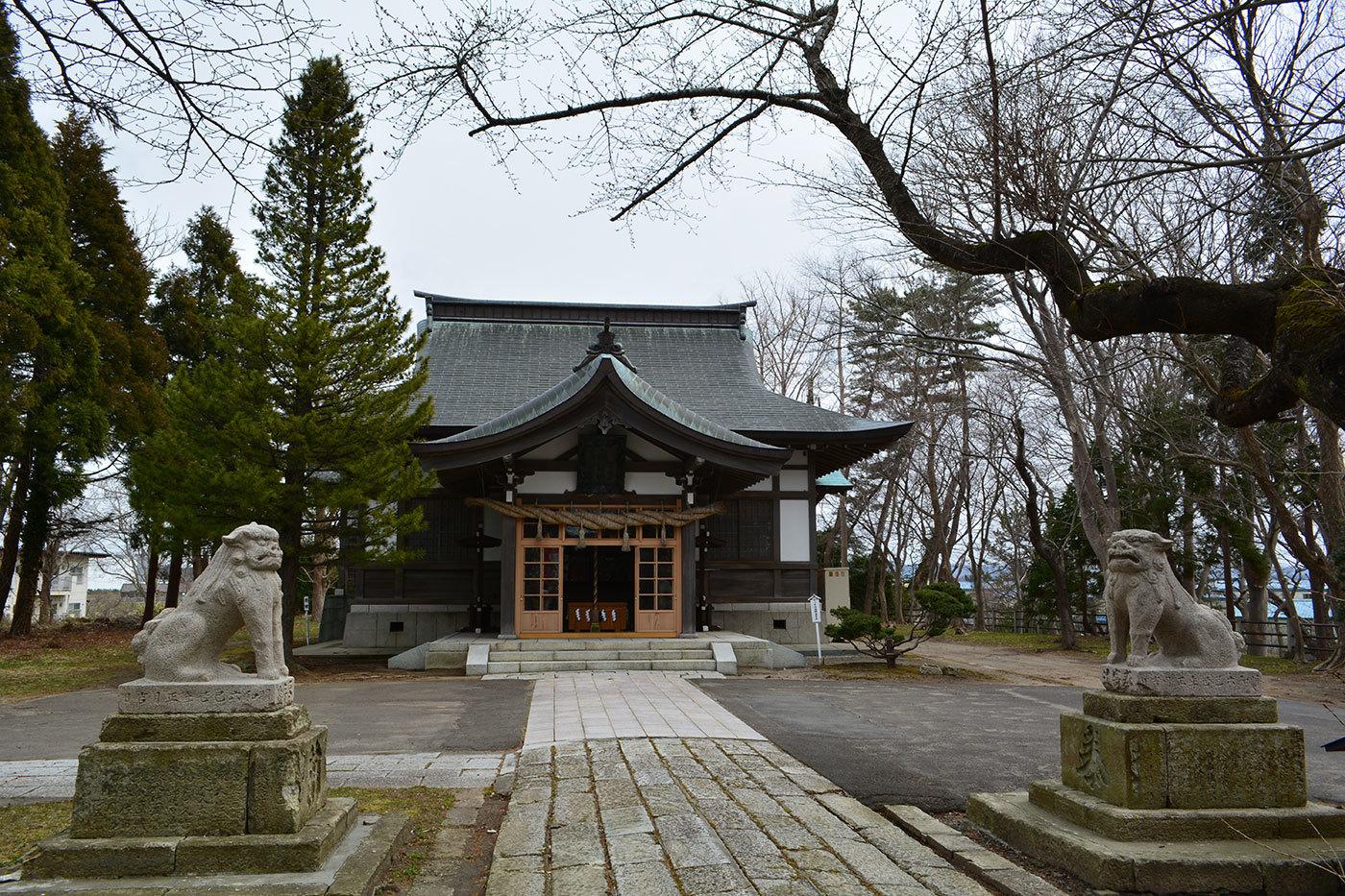 能代市御指南町 日吉神社620200329