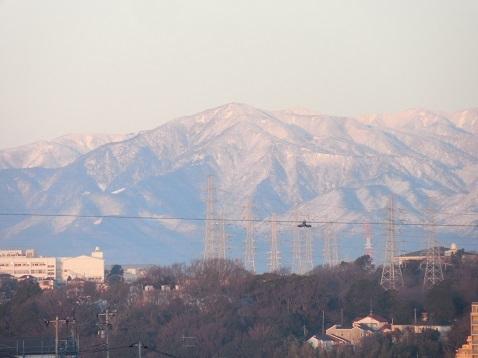 舞岡ふるさとの森から見た富士山@横浜市戸塚区d