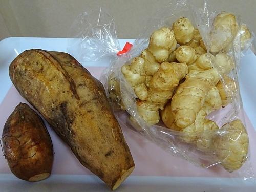 ヤーコン&菊芋