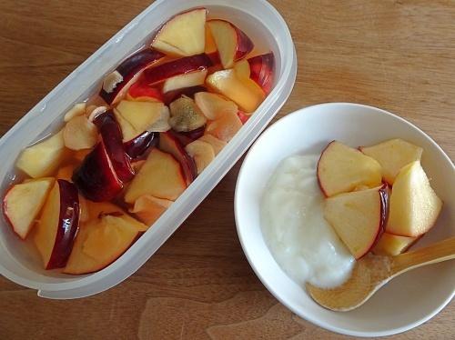 リンゴのジンジャーピクルス