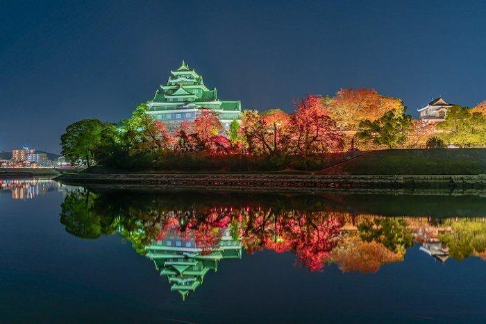 岡山城 700