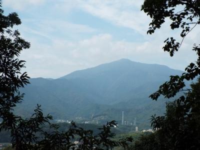 みはらしの丘より大山を望む