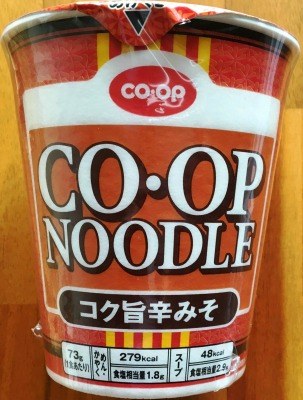 CO・OP NOODLE コク旨辛みそ