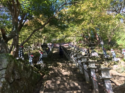 大山寺の参道