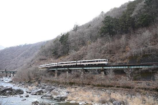 2020年2月23日撮影 高山本線 8081D キハ85系「WVひだ81号」