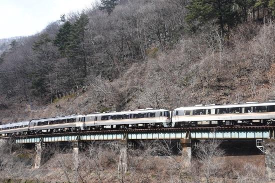 2020年2月23日撮影 高山本線 1027D キハ85系「WVひだ7号」連結部