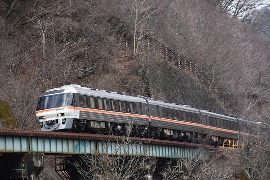 2020年2月23日撮影 高山本線 30D キハ85系 「WVひだ10号」