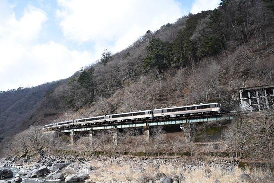 2020年2月23日撮影 高山本線 キハ85系 WVひだ