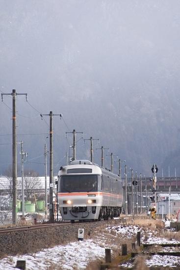2020年2月23日撮影 高山本線 1031D キハ85系「WVひだ11号」