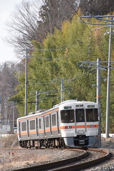 2020年3月22日撮影 飯田線 1408M 313系