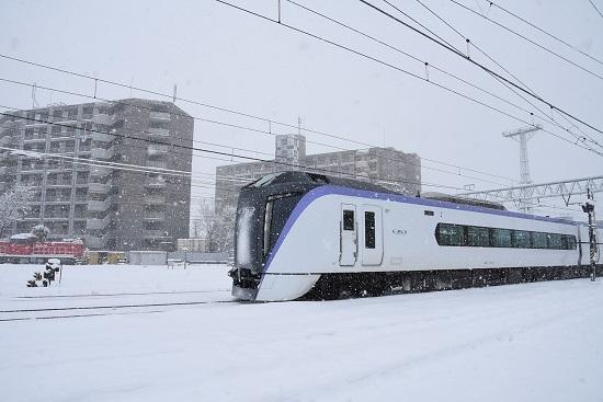 2020年3月29日撮影 南松本にて 5003M E353系 あずさ3号
