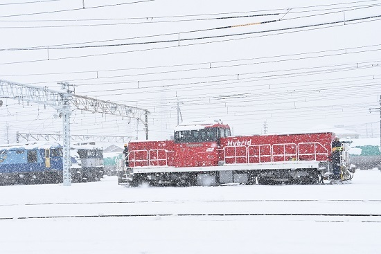 2020年3月29日撮影 南松本にてHD300-10号が移動