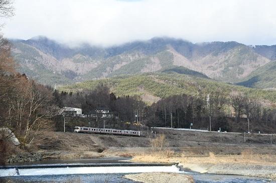 2020年3月1日撮影 飯田線 213M 313系1700番台 羽場淵