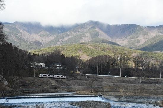 2020年3月1日撮影 飯田線 回送 313系 羽場淵